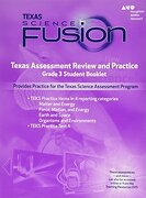 Houghton Mifflin Harcourt Science Fusion Texas: Texas Assessment Review and Practice Grade 3