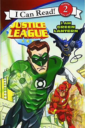 Justice league classic: i am green lantern (i can read level 2) ray santos