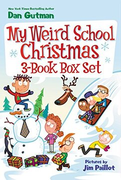 portada My Weird School Christmas 3-Book Box Set: Miss Holly Is Too Jolly!, Dr. Carbles Is Losing His Marbles!, Deck the Halls, We're Off the Walls!