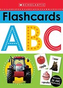 Flashcards: Abc (Scholastic Early Learners) (libro en Inglés) - Scholastic; Scholastic Early Learners - Cartwheel Books