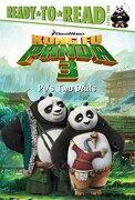 Po's two Dads (Kung fu Panda 3 Movie) (libro en Inglés) - Erica David - Simon Spotlight