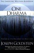 One Dharma: The Emerging Western Buddhism (libro en Inglés) - Joseph Goldstein - Harperone