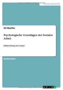 portada Psychologische Grundlagen der Sozialen Arbeit (German Edition)