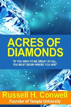 "portada ""Acres of Diamonds"" (libro en Inglés)"