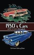 Pocket Size Men's Coloring Book: 1950's Cars Coloring Book for Adults (Travel Size Coloring Books) (Volume 11)
