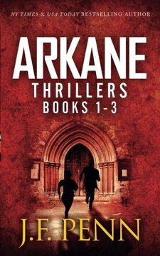 portada ARKANE Thrillers Books 1 - 3: Stone of Fire, Crypt of Bone, Ark of Blood (ARKANE boxset)