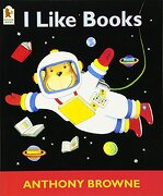 I Like Books (libro en inglés) - Anthony Browne - Walker Books