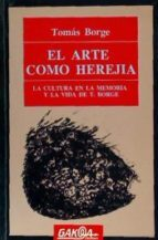 portada el arte como herejia