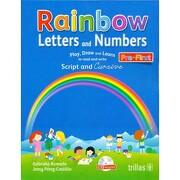 Rainbow Letters and Numbers - Gabriela Almada - Trillas