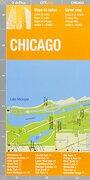 Chicago Plano Callejero Plastificado. Escala 1: 12. 000. Edición Bilingüe Castellano-Inglés. De Dios Editores. (City Map) - Varios Autores - De Dios