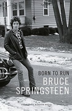 portada Born to Run, Memorias