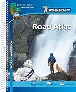 Road Atlas North America - USA, Canada, Mexico (Atlas de carreteras Michelin)