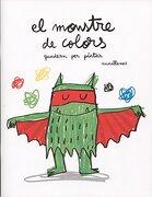 El monstre de colors. Quadern per pintar - Anna Llenas Serra - Editorial Flamboyant, S.L.