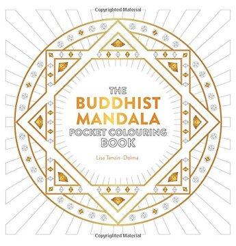 portada Buddhist Mandala Pocket Colouring Book (Colouring Books)