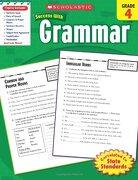 scholastic success with grammar, grade 4 - scholastic inc. (cor) - scholastic
