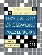 simon & schuster crossword puzzle book - john m. (edt) samson - simon & schuster
