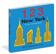 123 new york,a cool counting book - somers puck - independent pub group