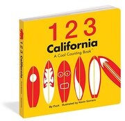 1 2 3 california,a cool counting book - somers puck - independent pub group