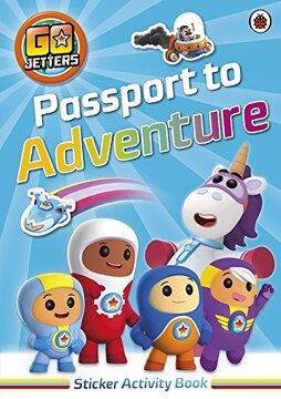 portada Go Jetters: Passport to Adventure! Sticker Activity Book