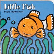 little fish finger puppet book - llc (cor) chronicle books - chronicle books llc