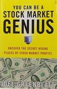 you can be a stock market genius,uncover the secret hiding places of stock market profits - joel greenblatt - simon & schuster