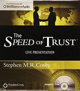 The Speed of Trust: Live Presentation - Covey, Stephen M. R.; Covey, Stephen M. R. - Franklin Covey