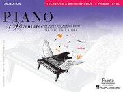 piano adventures - primer level,technique and artistry book - nancy (com) faber - hal leonard corp