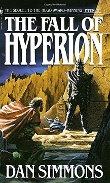 portada The Fall of Hyperion (libro en Inglés)