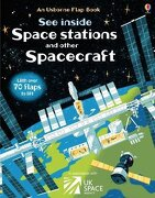 See Inside Space Stations and Other Spacecraft (libro en inglés) - Rosie Dickins - Usborne Publishing