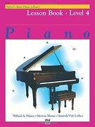 alfred´s basic piano library,lesson book level 4 - willard palmer - alfred pub co
