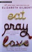 eat, pray, love - elizabeth gilbert - christian large print