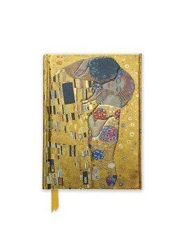 portada Klimt: The Kiss (Foiled Pocket Journal) (Flame Tree Pocket Books) (libro en Inglés)