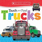 Touch and Feel Trucks (Scholastic Early Learners) (libro en Inglés) - Scholastic; Scholastic Early Learners - Cartwheel Books