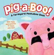 pig-a-boo!,a farmyard peekaboo book - dorothea deprisco - simon & schuster merchandise &