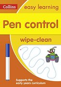Pen Control Wipe-Clean Activity Book (Collins Easy Learning Preschool)