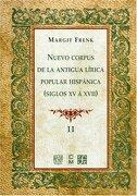 nuevo corpus de la antigua lirica popular hispanica. volumen ii - margit frenk - fondo de cultura economica