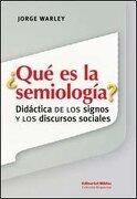Que es la Semiologia? - Varios - Biblos
