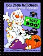 Boo Crew Halloween: Linework Pattern Workbook