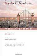 frontiers of justice,disability, nationality, species membership - martha c. nussbaum - harvard univ pr