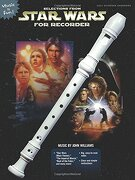 selections from star wars for recorder - john (com) williams - alfred pub co