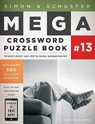 Simon & Schuster Mega Crossword Puzzle Book Series 13 - Samson John M. - Touchstone Books