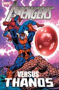 Avengers vs. Thanos - Jim Starlin - Marvel Comics