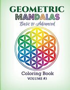 Geometric Mandalas - Basic to Advanced: Coloring Book