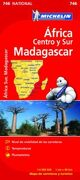 (2012).mapa 746 africa centro y sur, madagascar. (national) -  - michelin