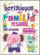 Actijuegos en Familia el Elefante y el Hipopotamo - Latinbooks - Latinbooks