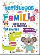 Actijuegos en Familia el Koala y el Cocodrilo - Latinbooks - Latinbooks