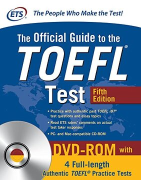 portada The Official Guide to the Toefl Test With Dvd-Rom, Fifth Edition (libro en Inglés)