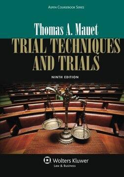 portada Trial Techniques and Trials + Website Companion (Aspen Coursebook) (libro en Englisch)