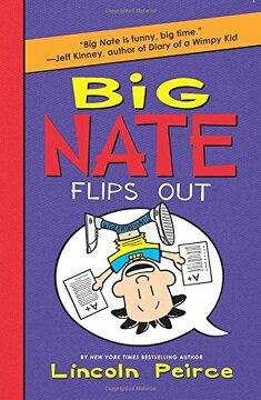 portada Big Nate: Flips out - Harper Collins usa **New Edition** (libro en Inglés)