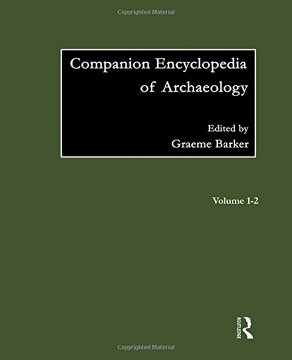 portada Companion Encyclopedia Of Archaeology (routledge Companion Encyclopaedias)